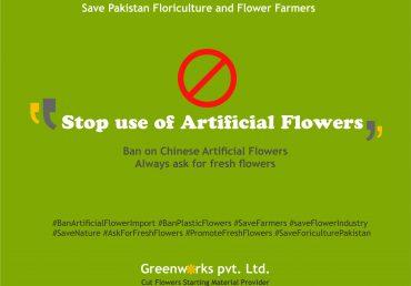 Ban Artificial Flowers