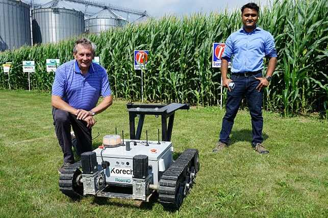 Autonomous robot improves employee efficiency